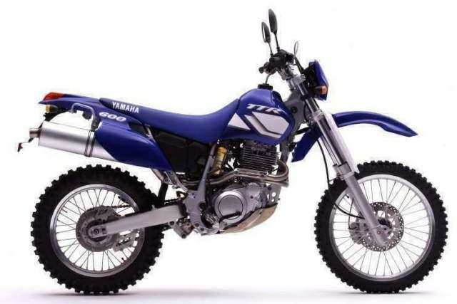 Yamaha TT600S Belgarda - części